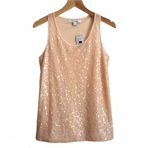 🆕 [Forever21] Sequin Glittery Tank Small